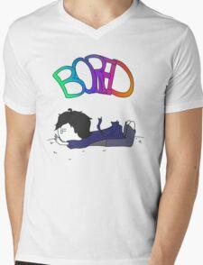 Sherlock - Bored Mens V-Neck T-Shirt