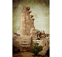 Temple of Heracles Photographic Print
