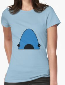 Cute Jaws Shark Womens Fitted T-Shirt