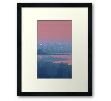 21:15 Framed Print