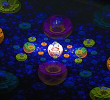 Flowers In Bubbleland by James Brotherton