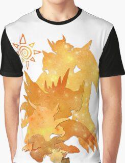 Tai's Agumon digievolution line (Digimon Adventure) Graphic T-Shirt