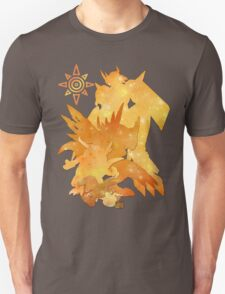 Tai's Agumon digievolution line (Digimon Adventure) Unisex T-Shirt