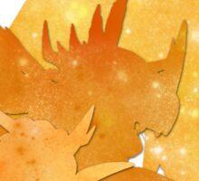 Tai's Agumon digievolution line (Digimon Adventure) Sticker