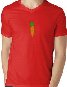 Carrot Mens V-Neck T-Shirt