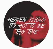 Ian Curtis - Heaven Knows It's Got To Be This Time One Piece - Short Sleeve