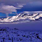 Tule Peak Sunrise by SB  Sullivan