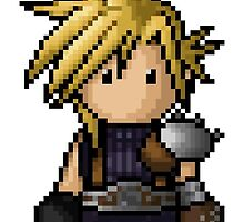 FF7 Cloud Strife by PixelKnight