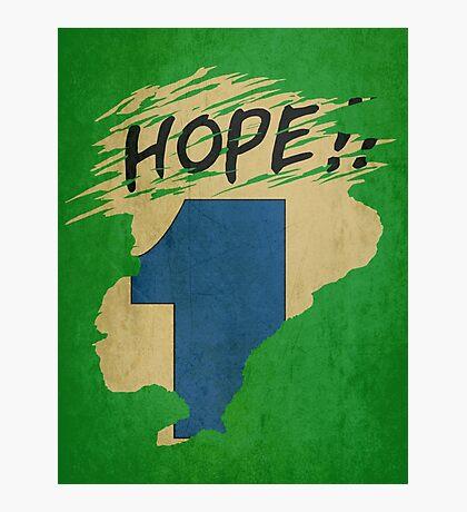 Hope!! (time machine) Photographic Print