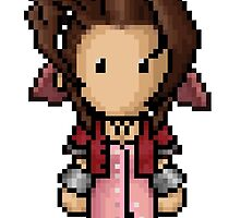 FF7 Aerith by PixelKnight