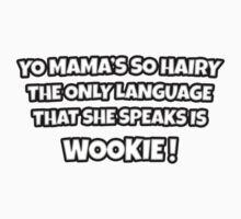 Yo Mama's So Hairy One Piece - Long Sleeve