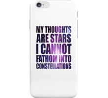The Fault in our Stars - Stars Quote iPhone Case/Skin
