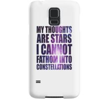 The Fault in our Stars - Stars Quote Samsung Galaxy Case/Skin