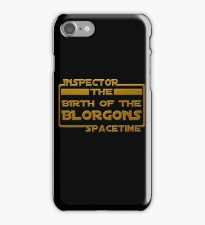 Birth of the Blorgons iPhone Case/Skin