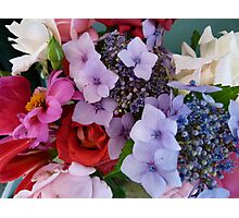 Colourful Bunch Photographic Print