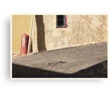 alley, denver Canvas Print