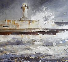 South Gare Lighthouse by Sue Nichol