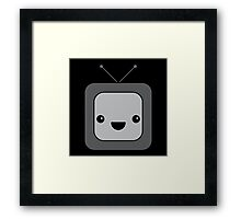 Cute TV (Poltergeist) Framed Print