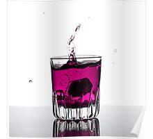 Pink Shot Poster