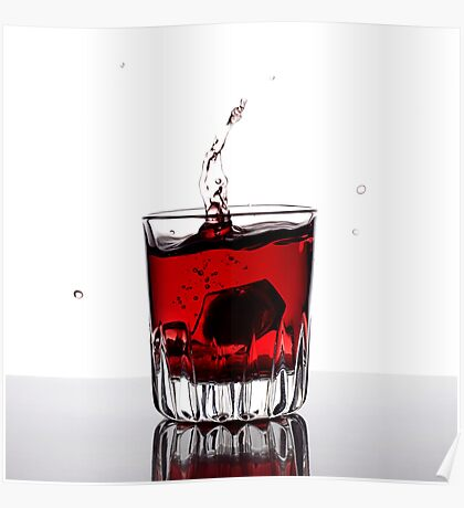 Red Shot Poster
