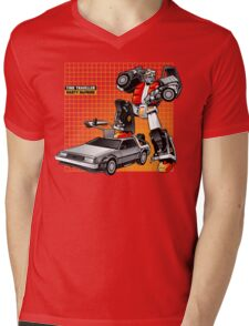 Marty McPrime Mens V-Neck T-Shirt