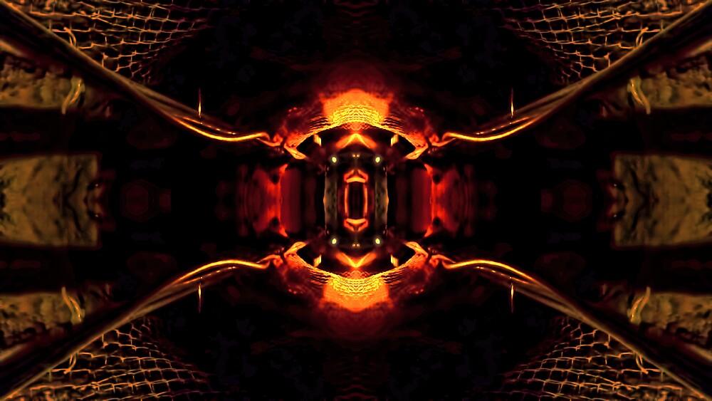 Tesla's Mine Light by V1mage