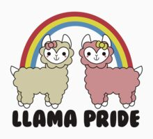 Adorable Llama Pride Black Lettering by hellohappy