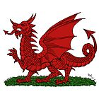 Red Dragon of Wales by RHFay