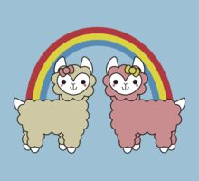Adorable Llama Pride No Lettering One Piece - Short Sleeve
