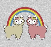 Adorable Llama Pride No Lettering Kids Tee