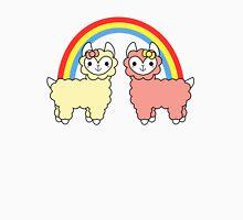 Adorable Llama Pride No Lettering Unisex T-Shirt