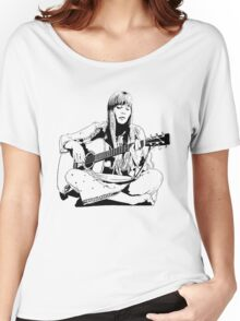 Joni Mitchell - Line Women's Relaxed Fit T-Shirt