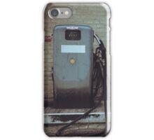 Retro Fuel Pumps iPhone Case/Skin