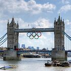 Tower Bridge during the Olympics by Phill Sacre