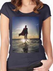 SuperHero Women's Fitted Scoop T-Shirt