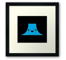 Cute Devil's Tower (Close Encounters of the Third Kind) Framed Print