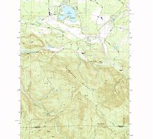 USGS Topo Map Washington State WA Lake Lawrence 241881 1990 24000 by wetdryvac