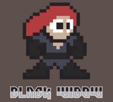Black Widow 8 Bit by jpappas