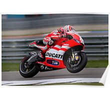 Nicky Hayden at Assen 2011 Poster
