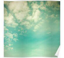 Vinatge - Retro Blue Sky Poster