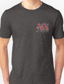 taylor swift watercolor flowers  T-Shirt