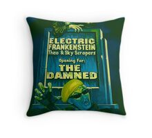 The Damned Poster Throw Pillow