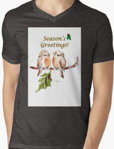 2 Little Birds - Season's Greetings! Mens V-Neck T-Shirt
