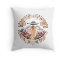 The Truth (Round) Throw Pillow