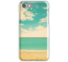 Retro Beach iPhone Case/Skin