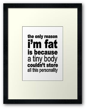I'm Fat by Maria  Gonzalez