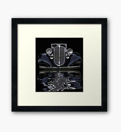 '33 Chrysler Flood Framed Print