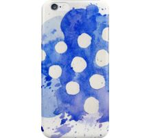 Blue Knights Watercolor Logo iPhone Case/Skin