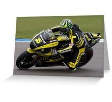 Cal Crutchlow at Assen 2011 Greeting Card