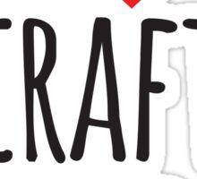I Heart Craft Beer Sticker